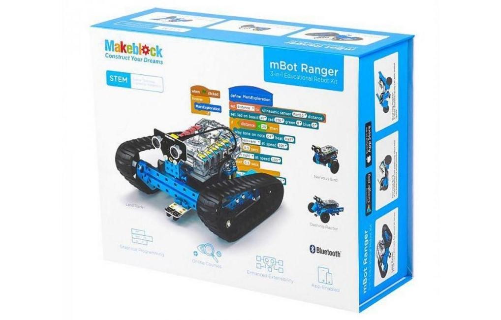 Базовый робототехнический набор mBot Ranger Robot Kit