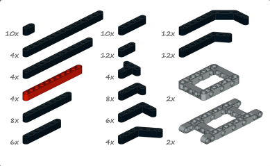 Детали LEGO Mindstorms EV3 Home