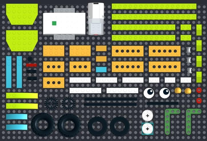 Инструкция из 66 деталей модели Карусель для Lego WeDo 2.0