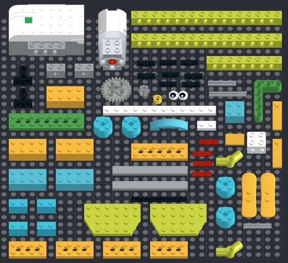 Инструкция из 66 деталей модели Пилот для Lego WeDo 2.0