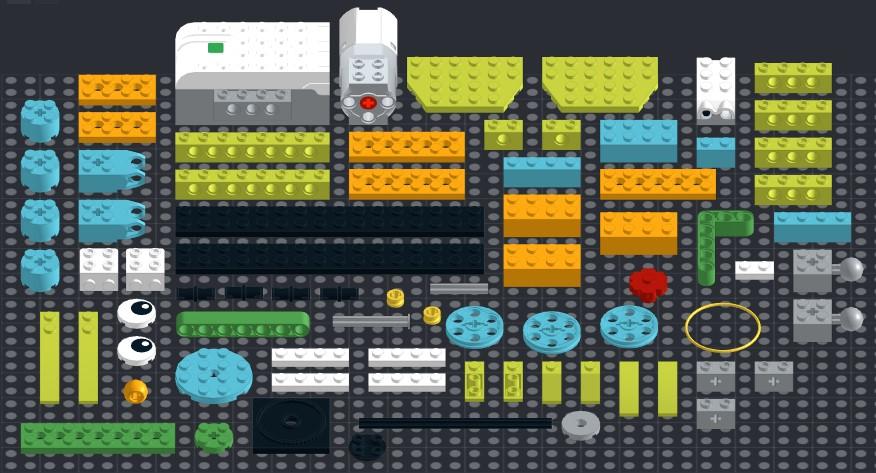 Инструкция из 78 деталей модели Проворный кролик для Lego WeDo 2.0