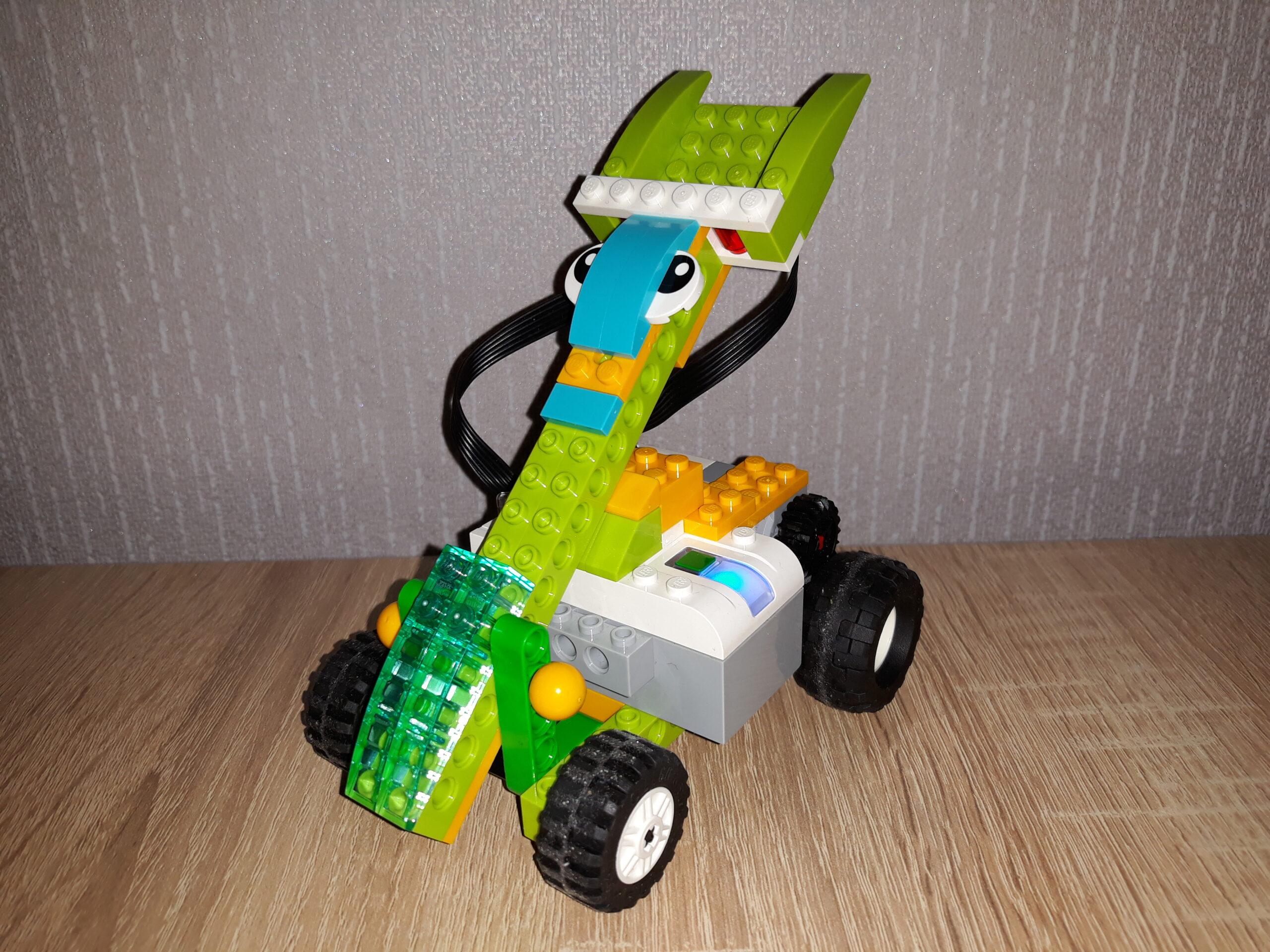 Инструкция по сборке из набора LEGO Education WeDo 2.0 Котобот