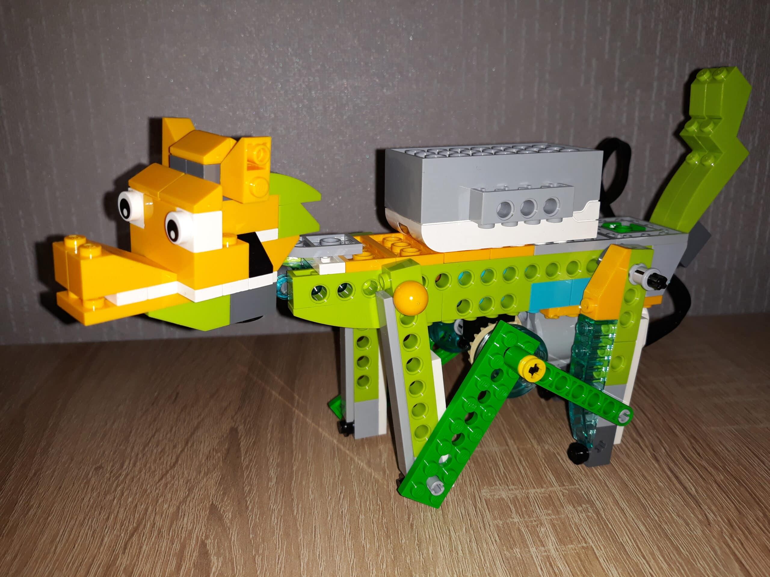 Инструкция по сборке из набора LEGO Education WeDo 2.0 Лиса