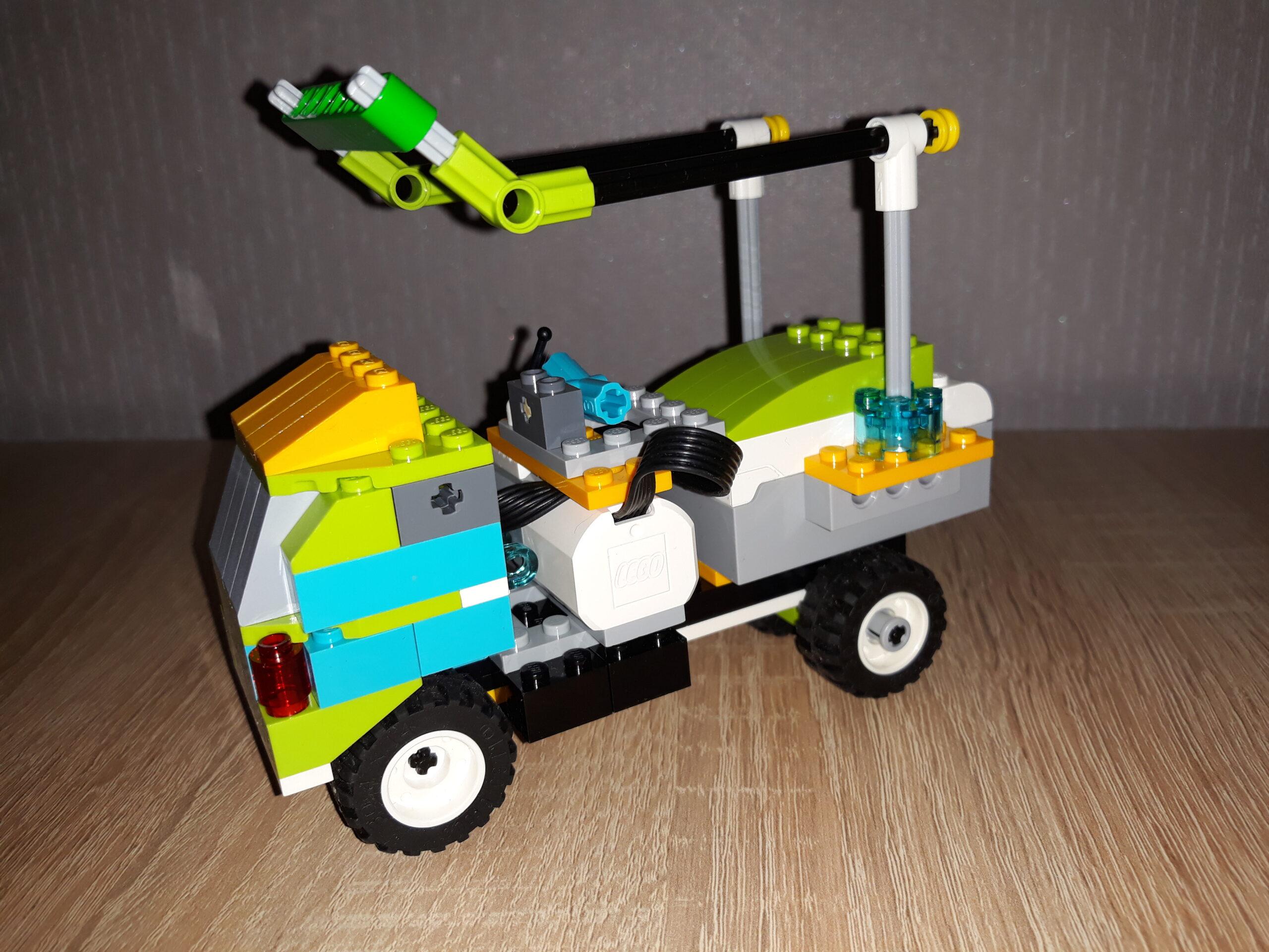 Инструкция по сборке из набора LEGO Education WeDo 2.0 Модифицированный грузовичок