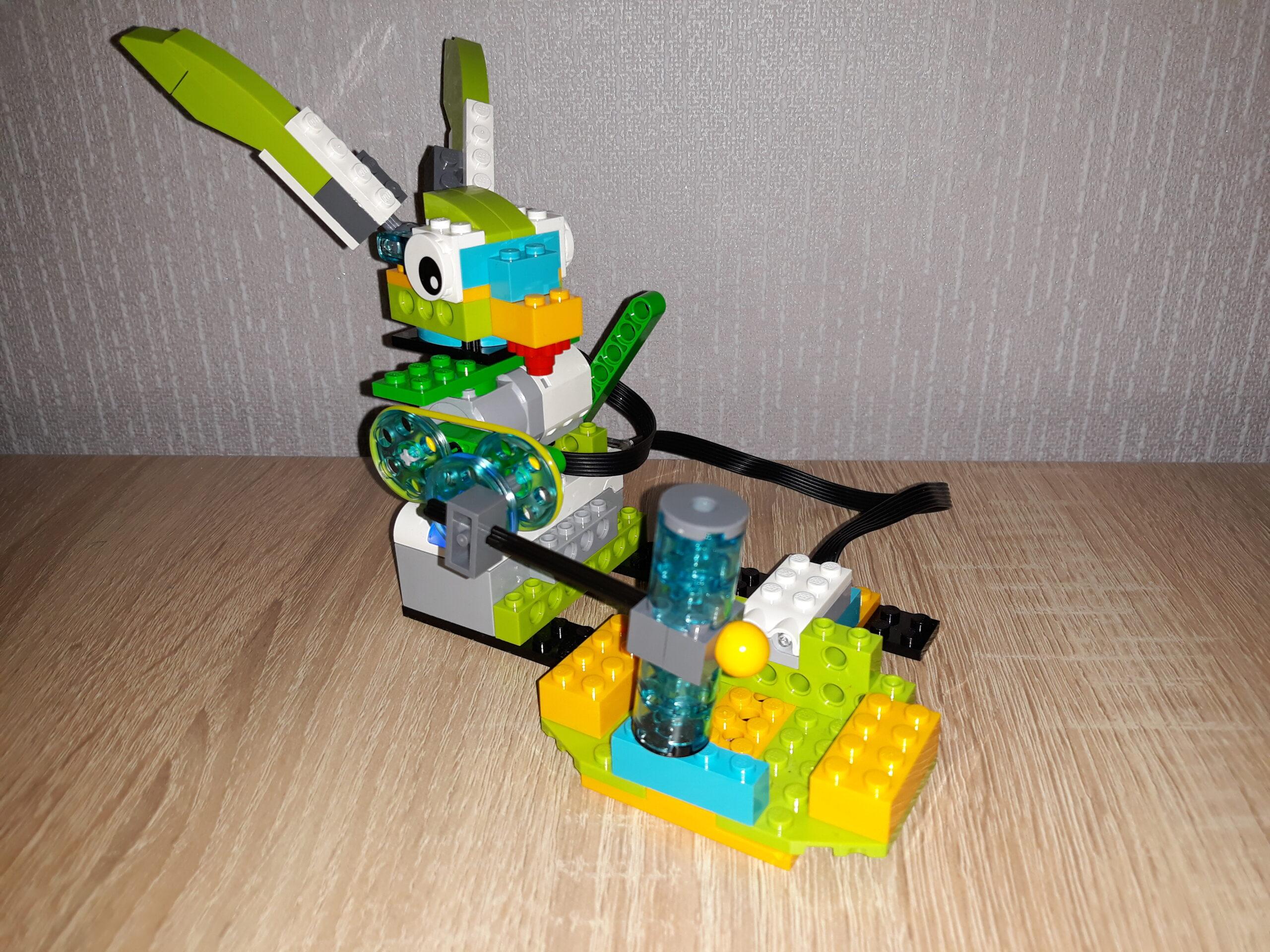 Инструкция по сборке из набора LEGO Education WeDo 2.0 Проворный кролик