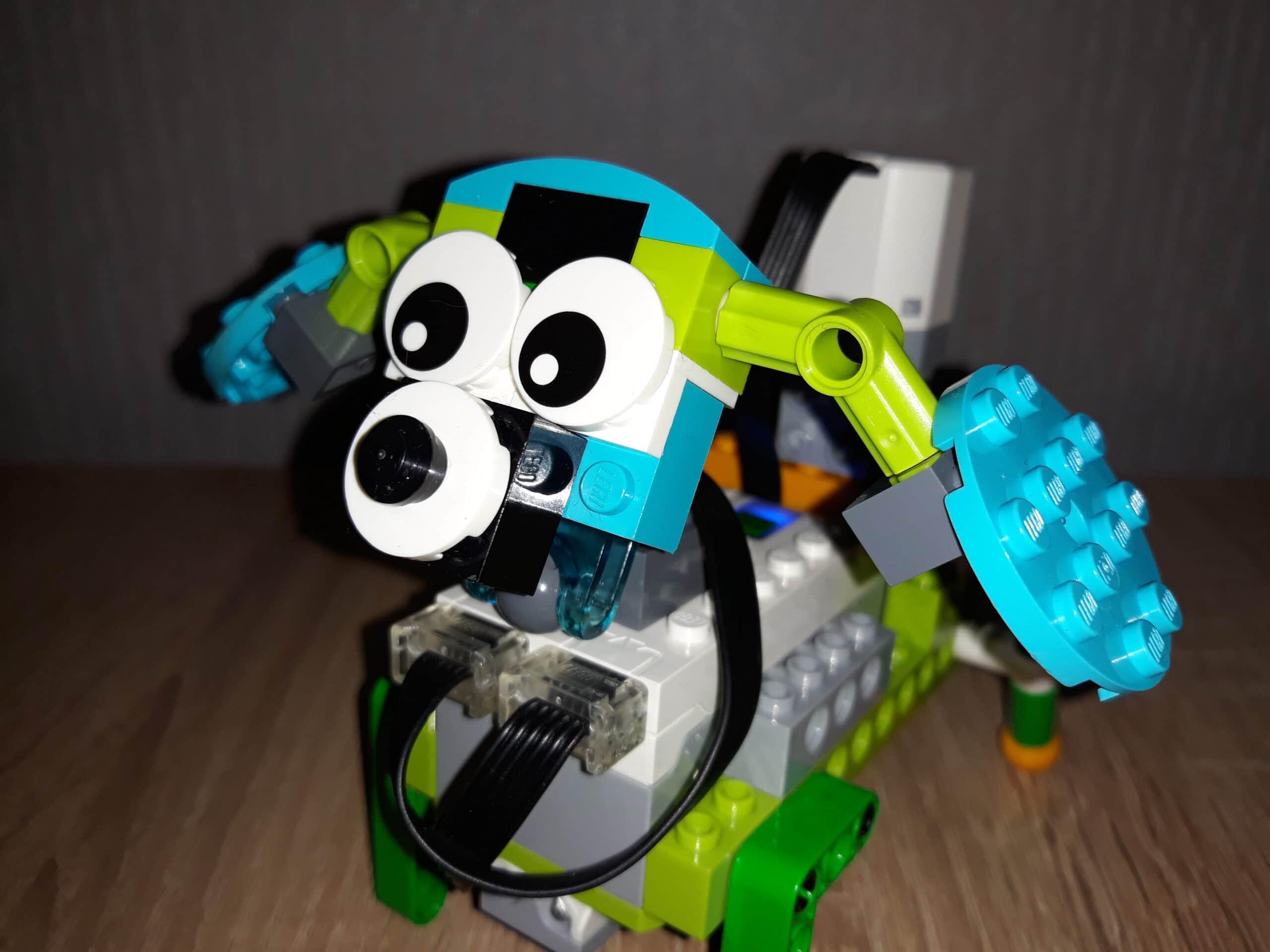 Инструкция по сборке из набора LEGO Education WeDo 2.0 Щенок