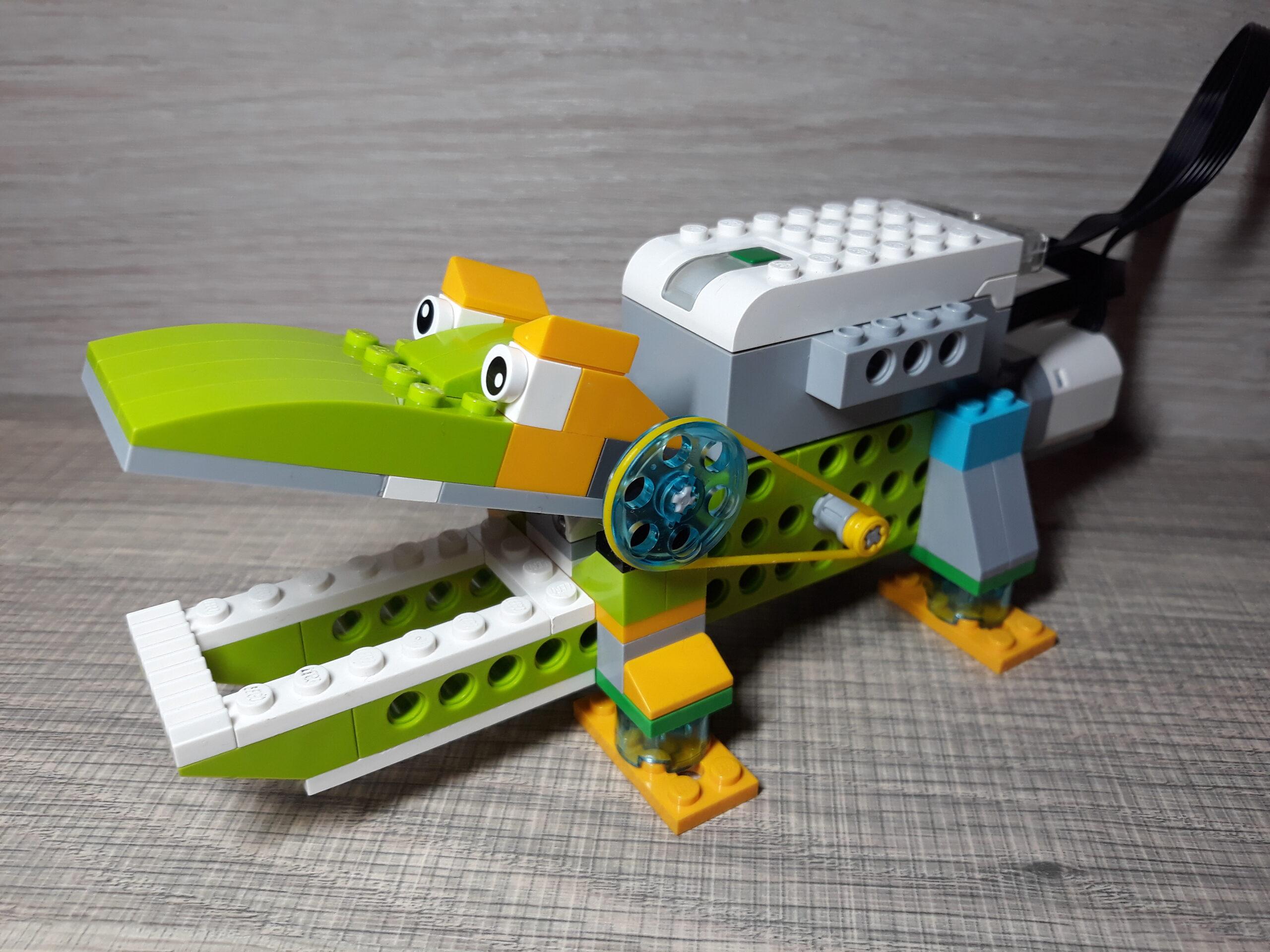 Инструкция по сборке WeDo 2.0 крокодил