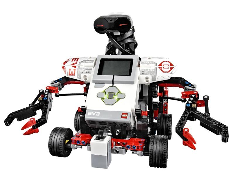 5 роботов EV3