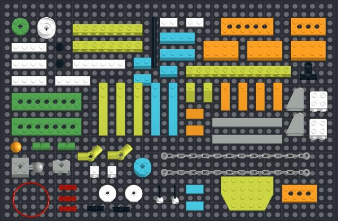 73 детали Lego WeDo 2.0