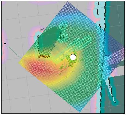 Автономная навигация с помощью карты