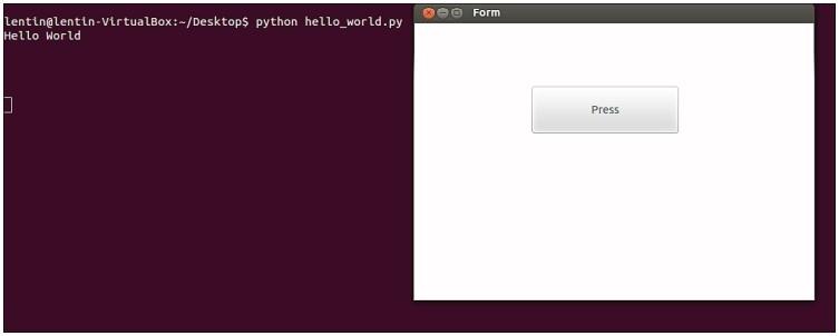Запуск приложения Pyqt4