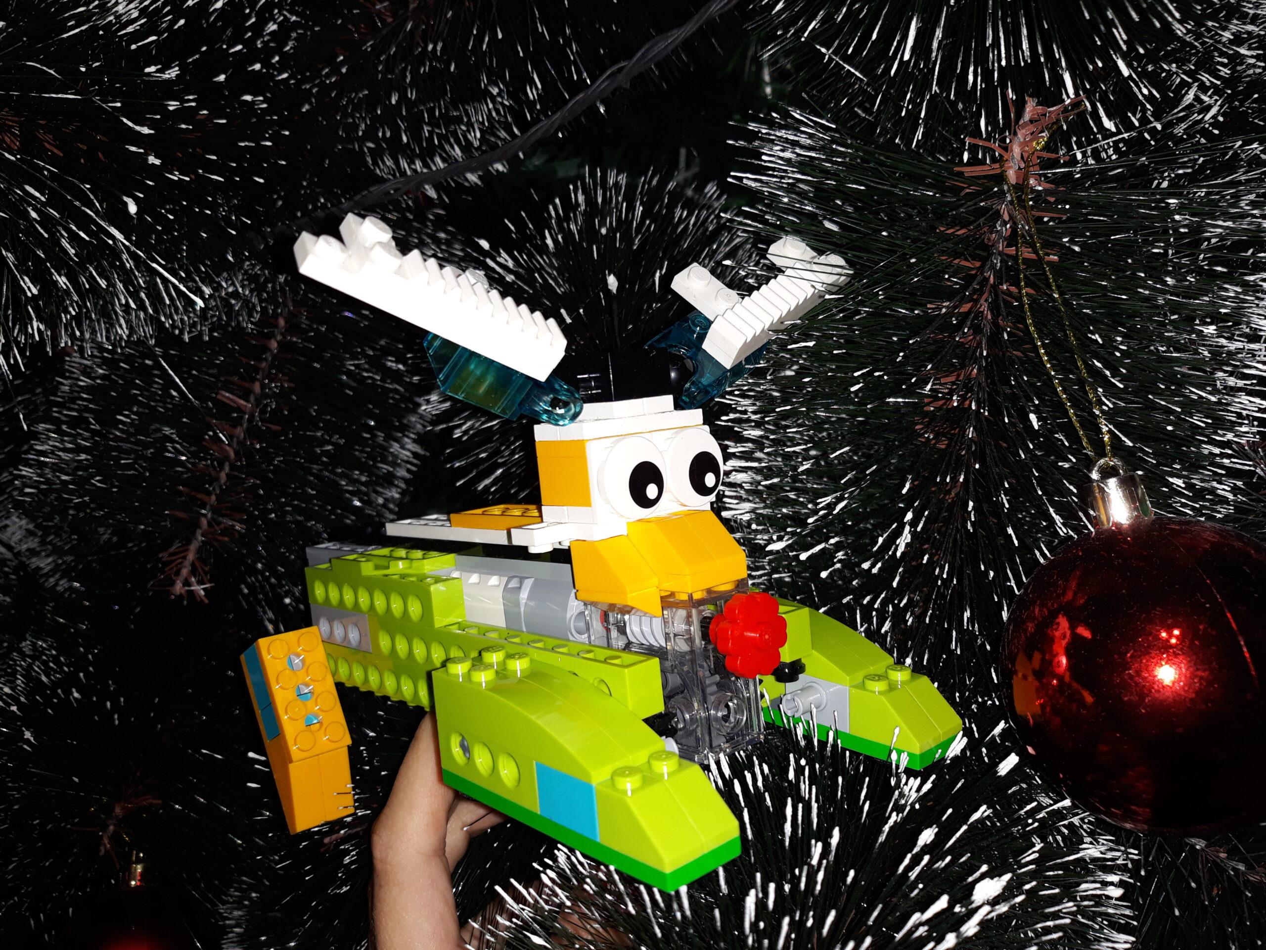 Инструкция по сборке из набора LEGO Education WeDo 2.0 Олень Свен 2