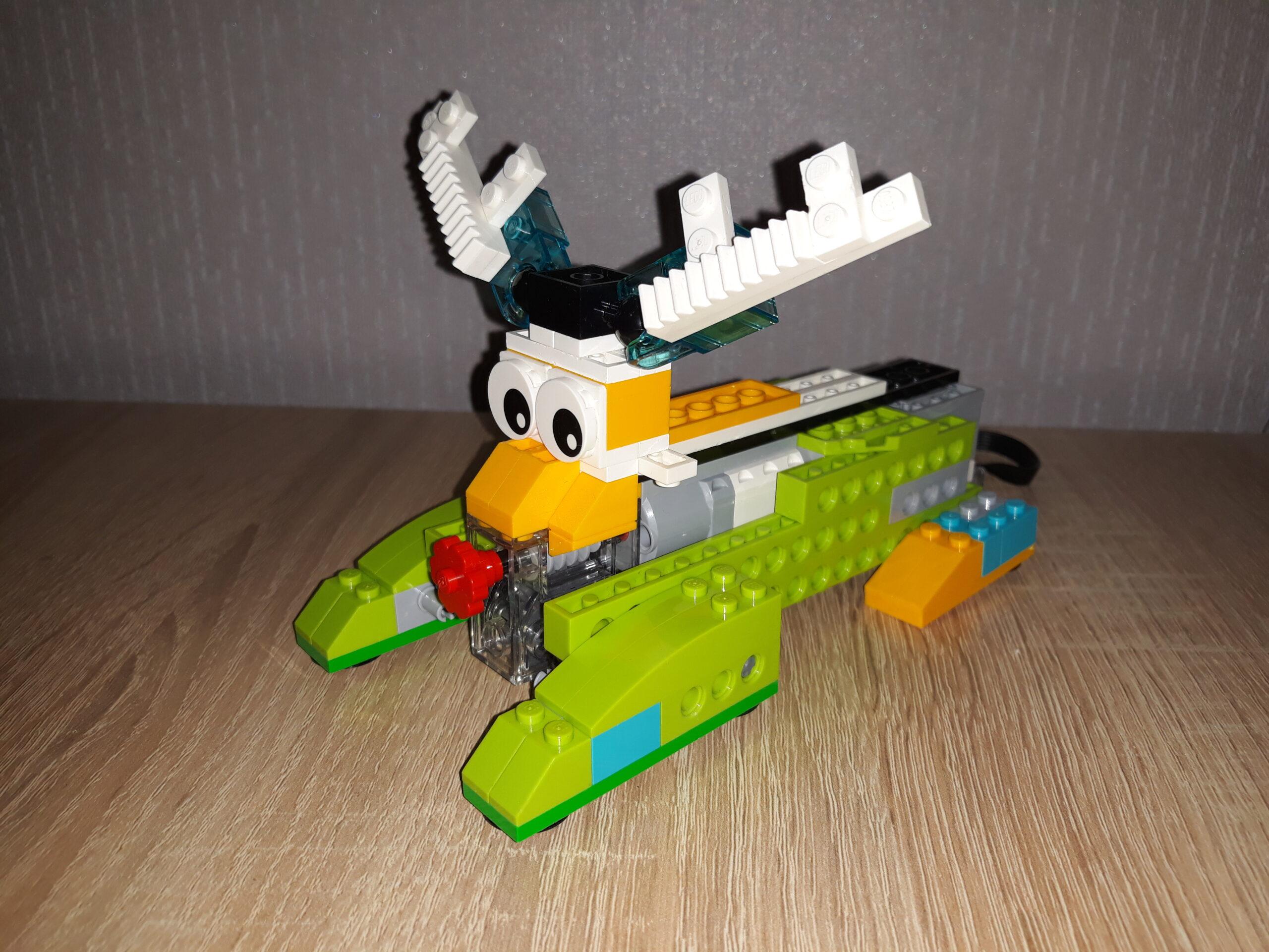 Инструкция по сборке из набора LEGO Education WeDo 2.0 Олень Свен
