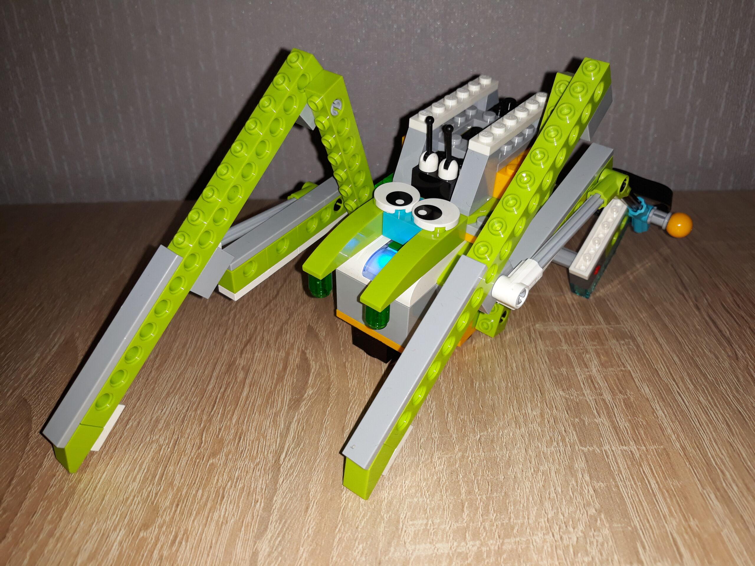 Инструкция по сборке из набора LEGO Education WeDo 2.0 Паук