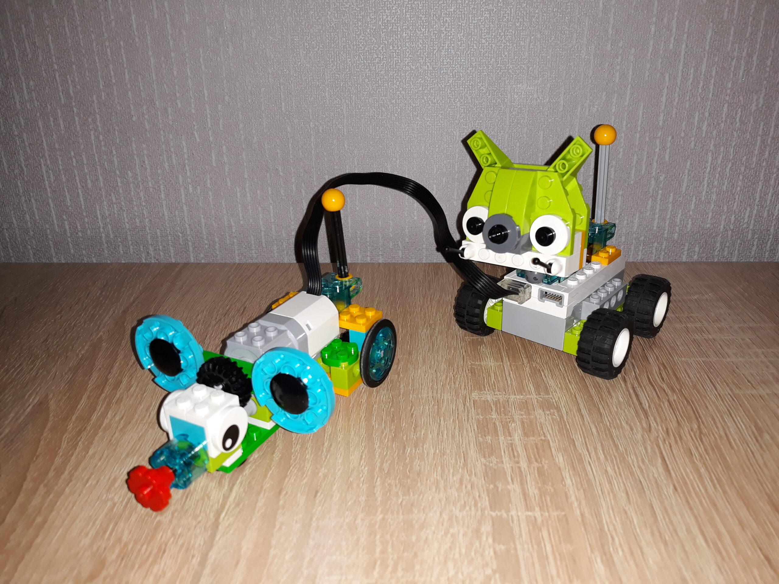 Инструкция по сборке из набора LEGO Education WeDo 2.0 Том и Джерри