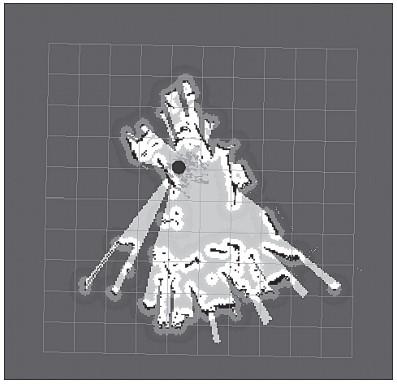 Локализация робота с помощью AMCL