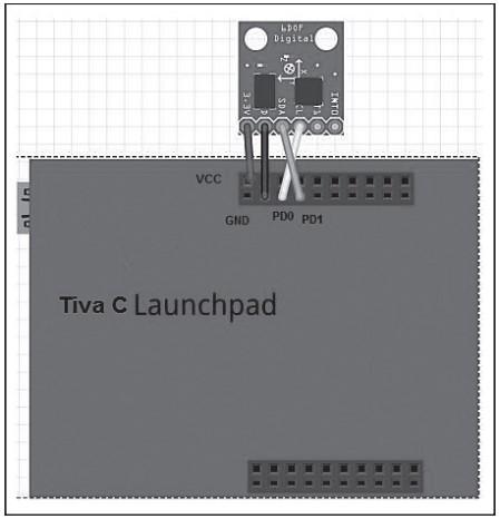 Подключение MPU 6050 к Tiva C LaunchPad