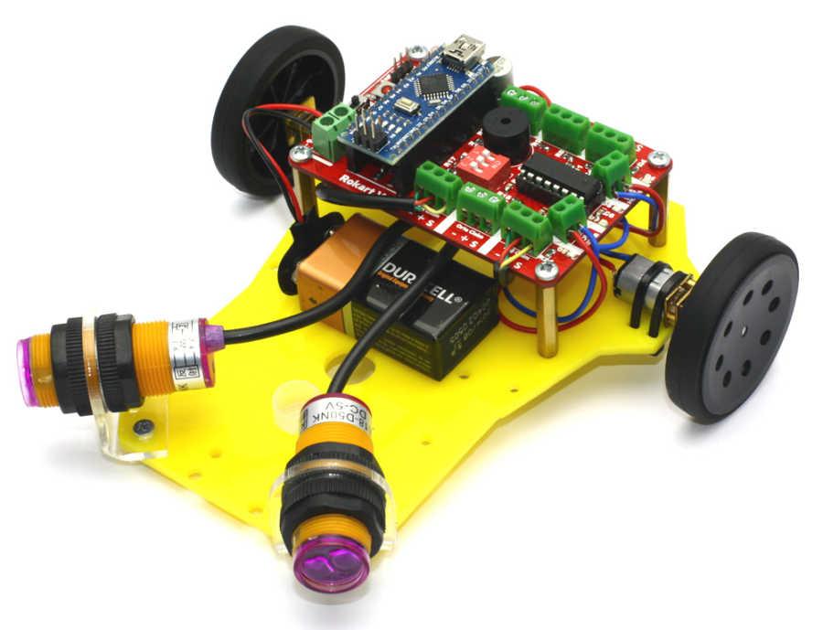 Робот с дифференциальным приводом