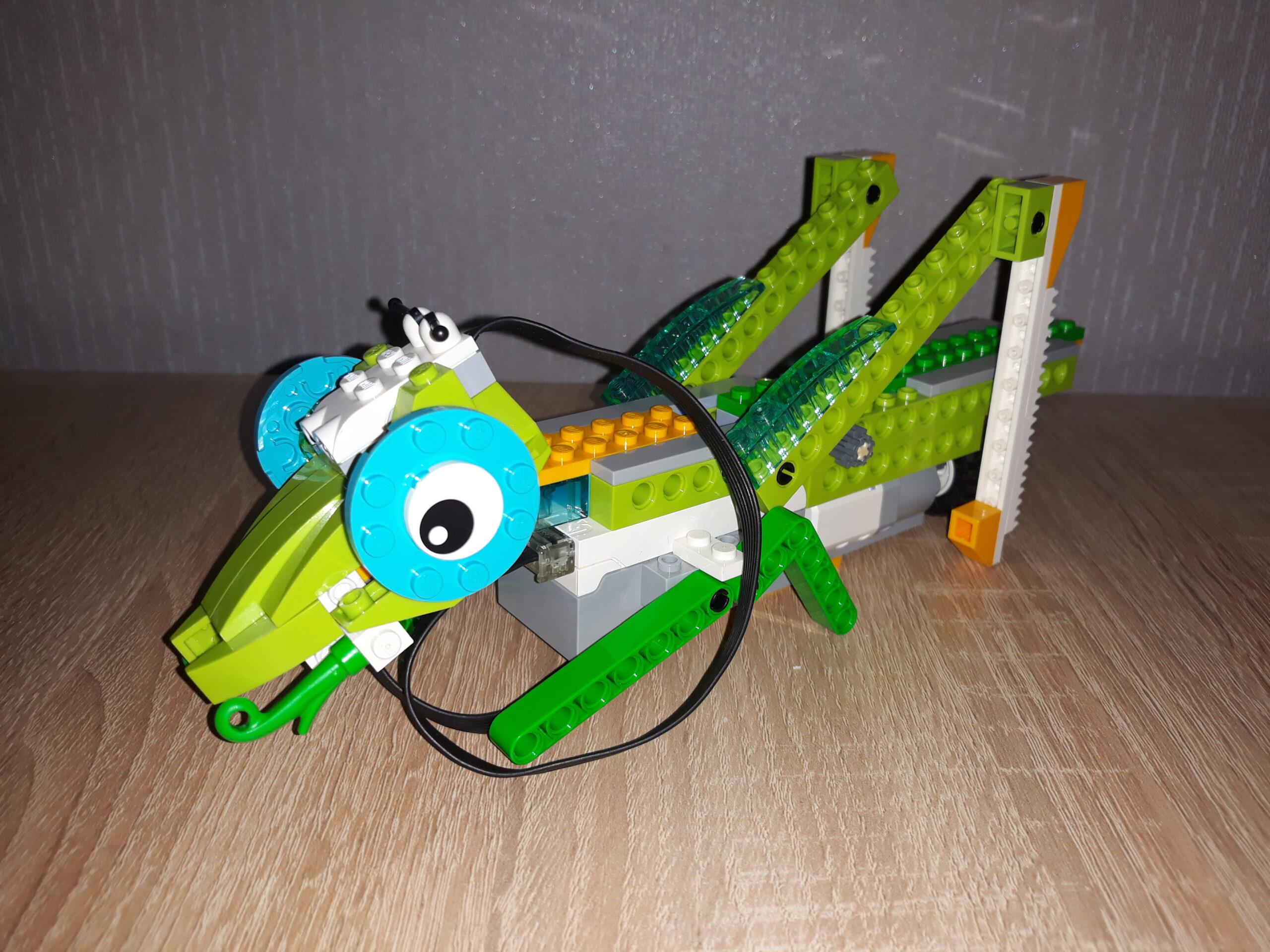 Инструкция по сборке из набора LEGO Education WeDo 2.0 Кузнечик