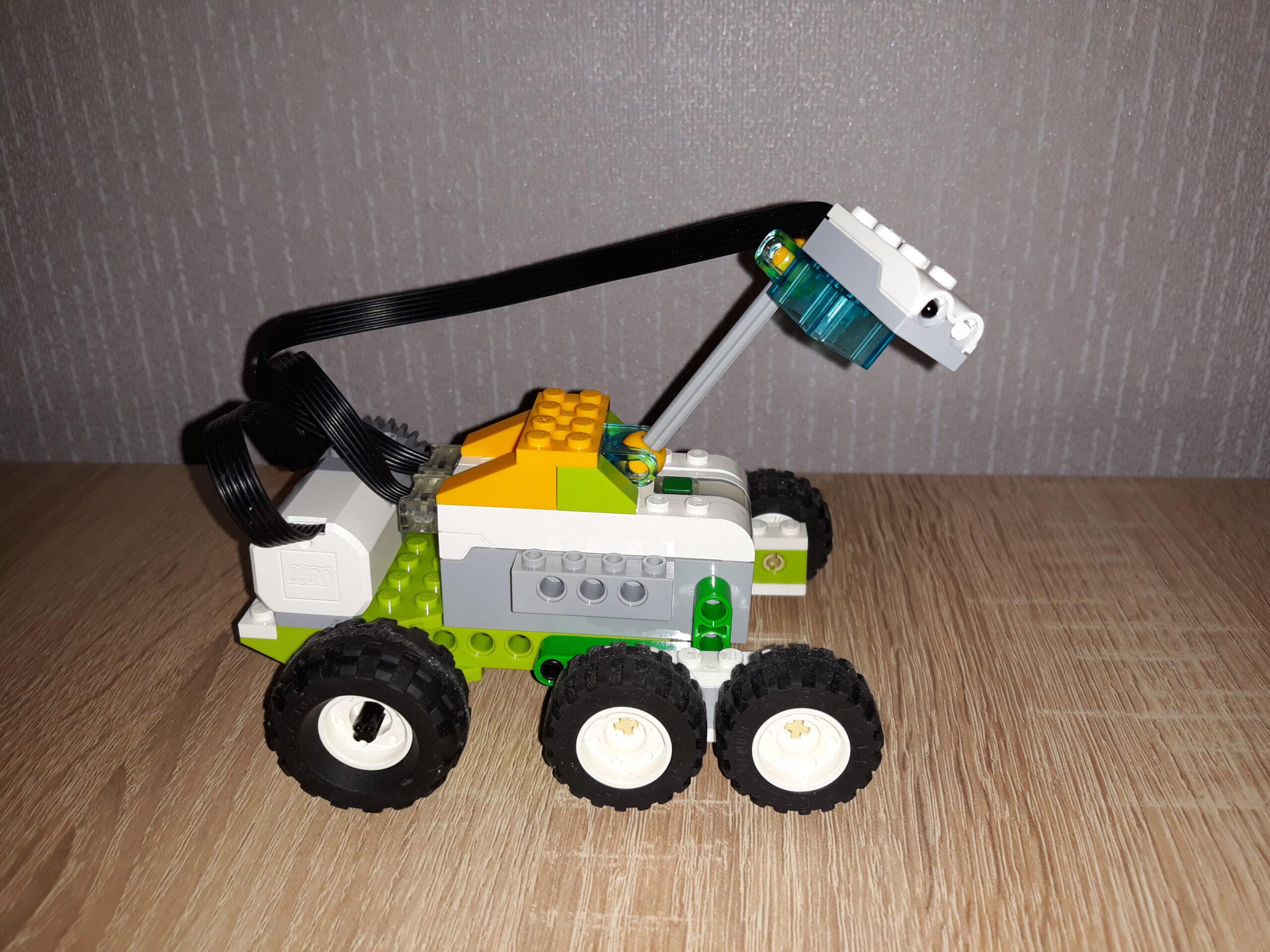Конечный результат инструкция по сборке из набора LEGO Education WeDo 2.0 Марсоход