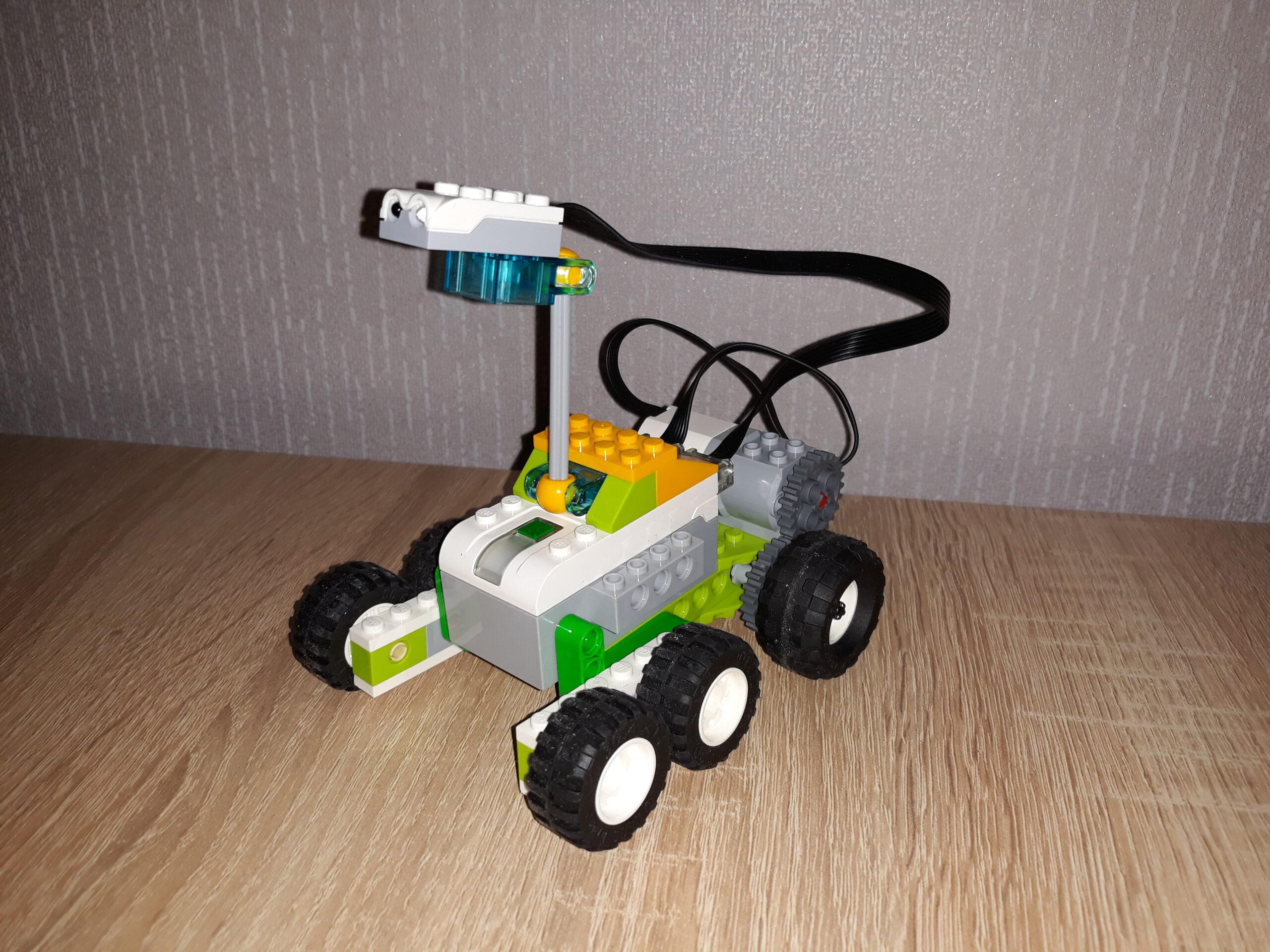 Скачать инструкцию по сборке из набора LEGO Education WeDo 2.0 Марсоход