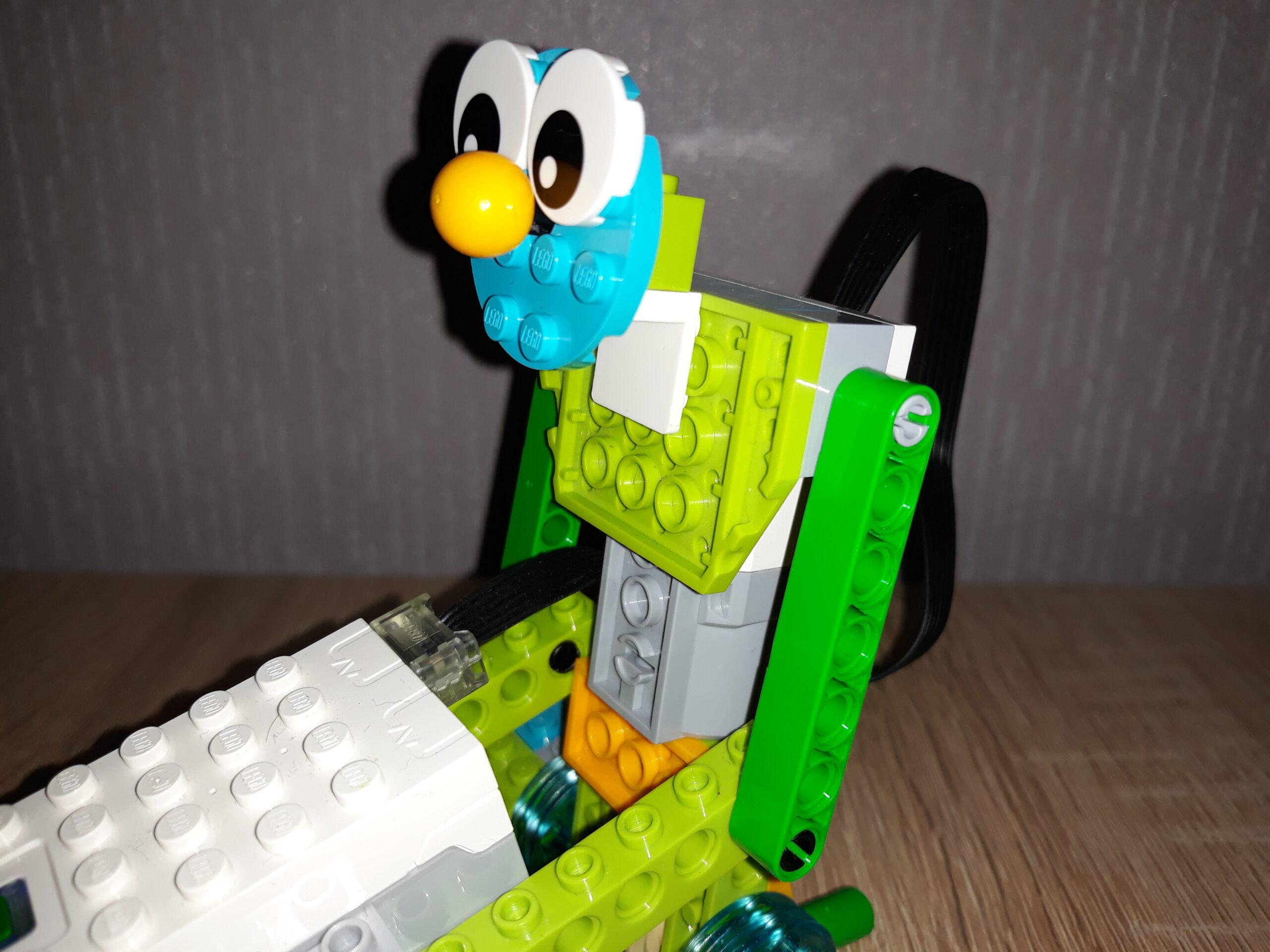 Инструкция по сборке из набора LEGO Education WeDo 2.0 Боб строитель 2