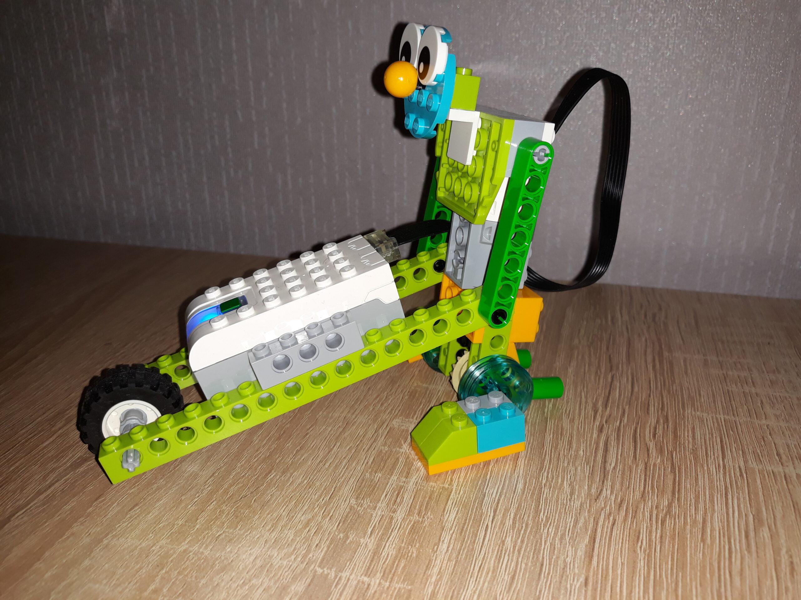 Инструкция по сборке из набора LEGO Education WeDo 2.0 Боб строитель 3