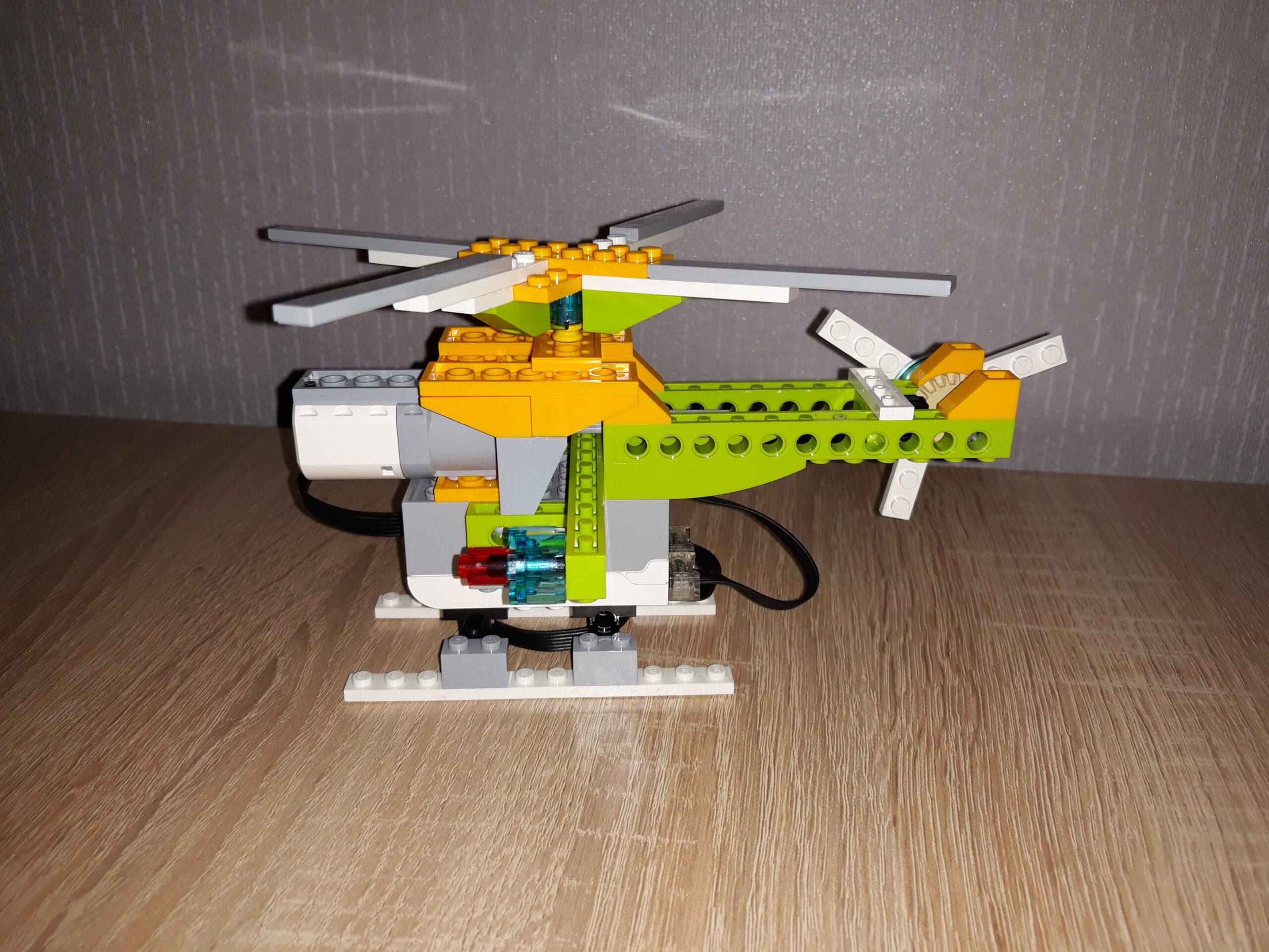 Скачать бесплатно инструкцию по сборке из набора LEGO Education WeDo 2.0 Вертолетик