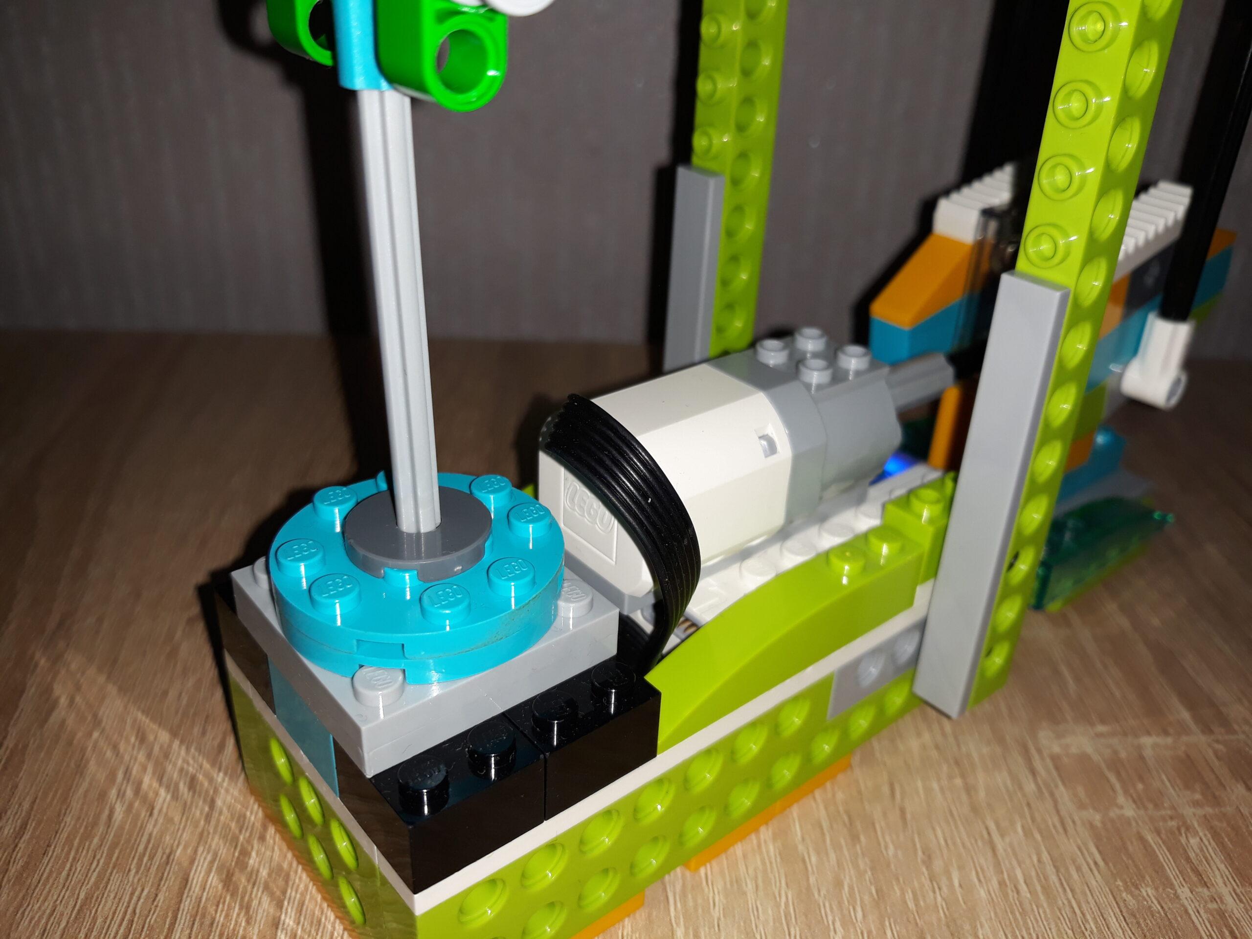 Инструкция по сборке из набора LEGO Education WeDo 2.0 Нефтяная вышка