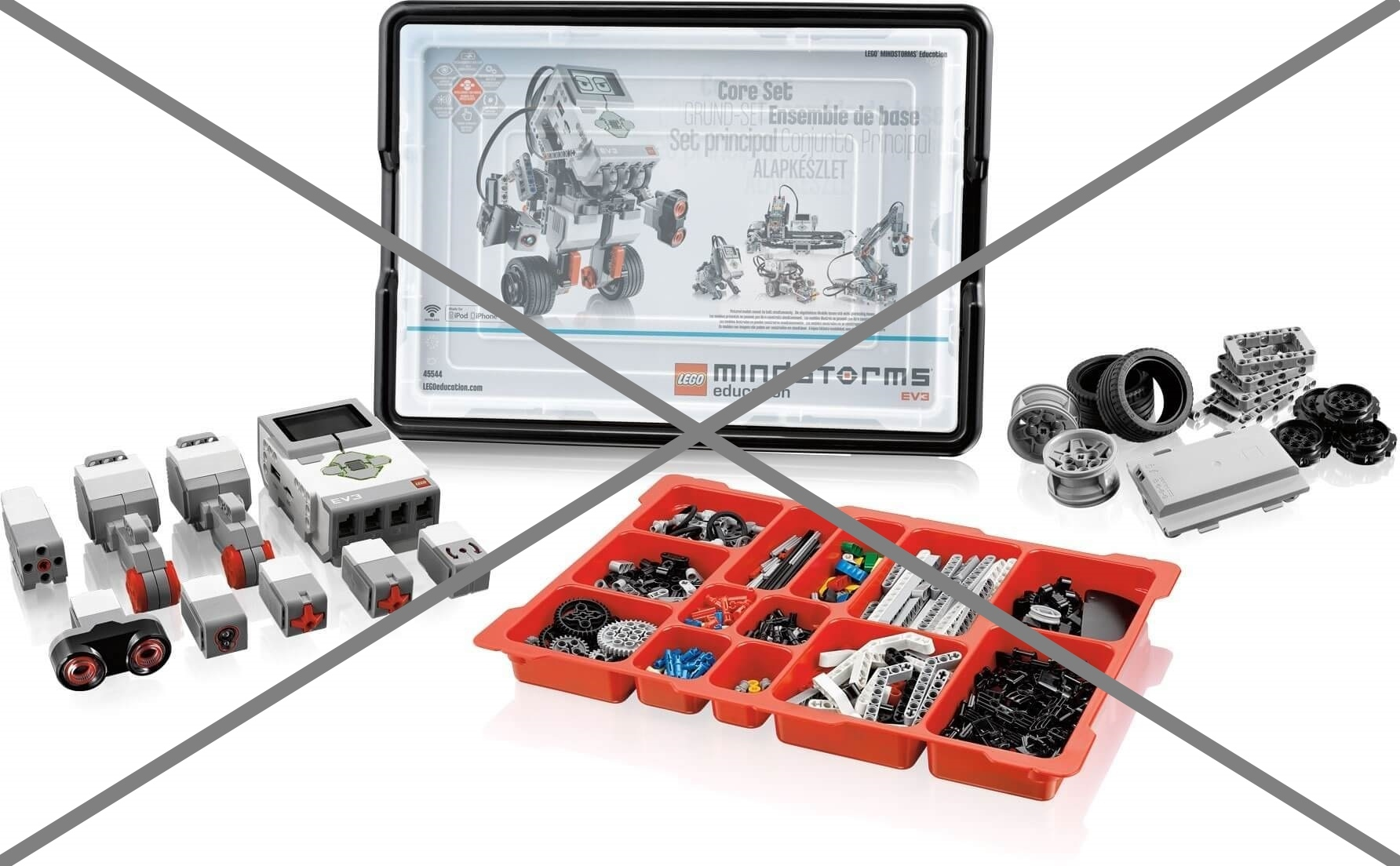 Набор Lego EV3 выходит из оборота