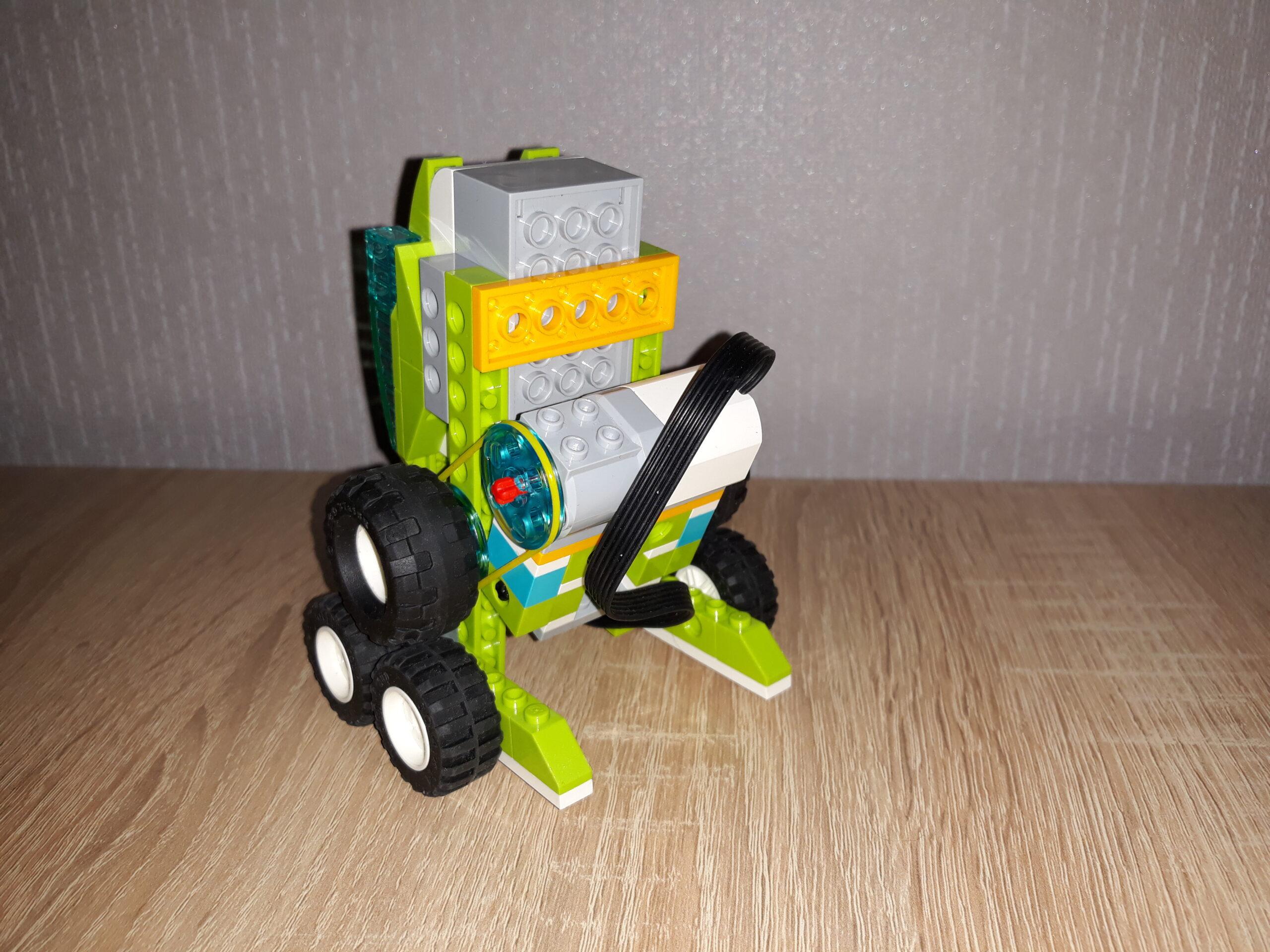 Схема сборки WeDo 2.0 Робот R2D2
