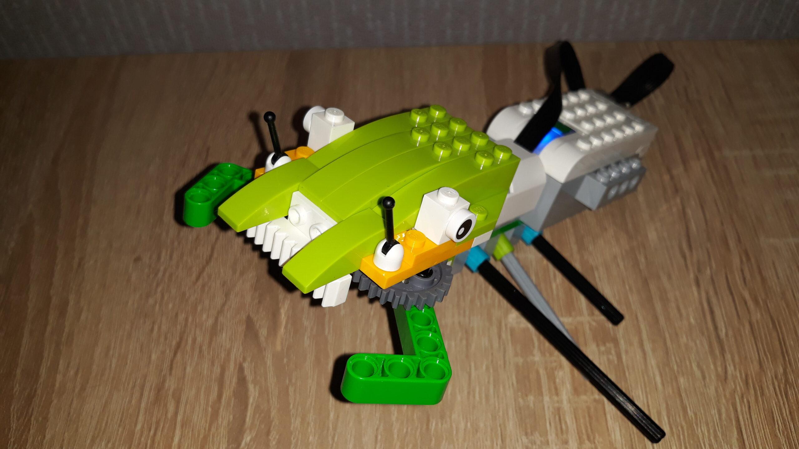 Инструкция по сборке из набора LEGO Education WeDo 2.0 Таракан