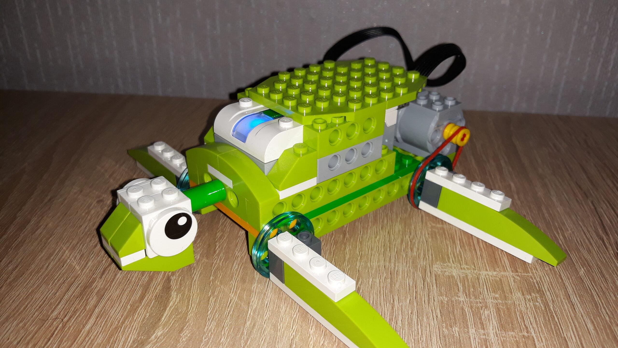 Инструкция по сборке из набора LEGO Education WeDo 2.0 Черепашка