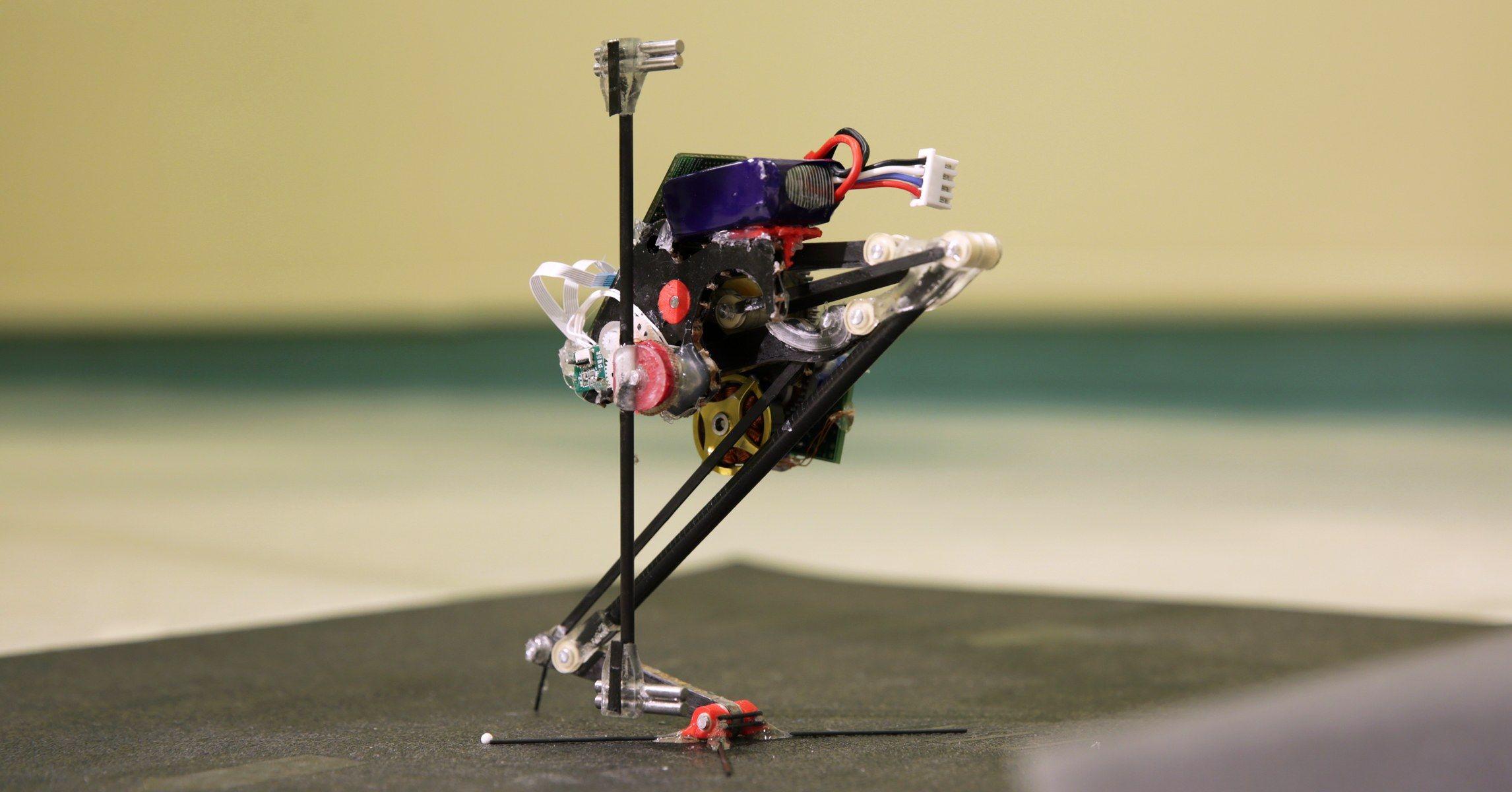 Одноногий робот