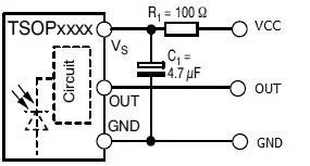 Схема ИК датчиков