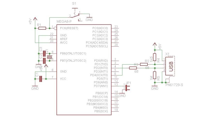 Схема подключения для запуска загрузчика