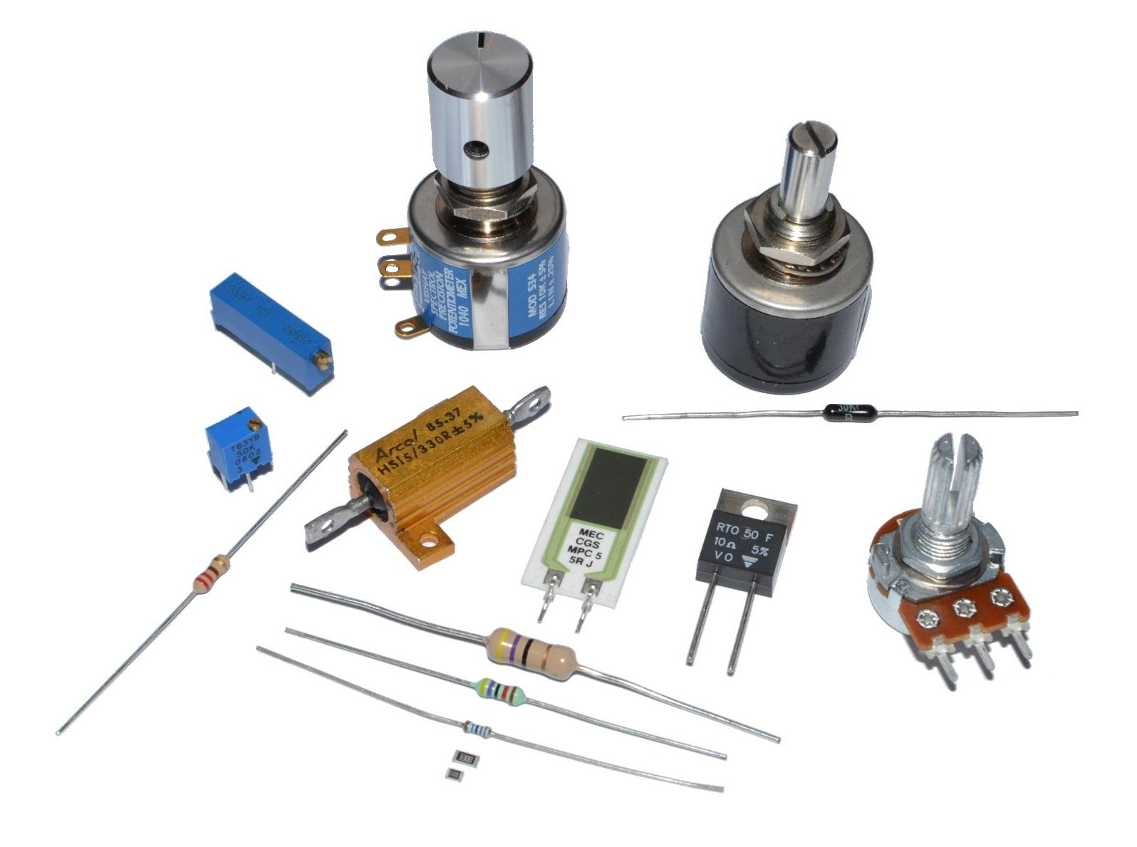 Резисторы и потенциометры