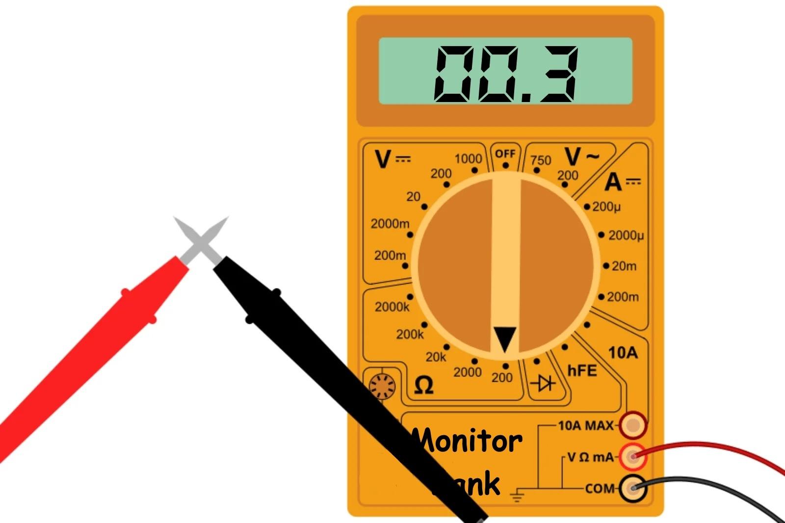 Измерение сопротивления измерительных проводов