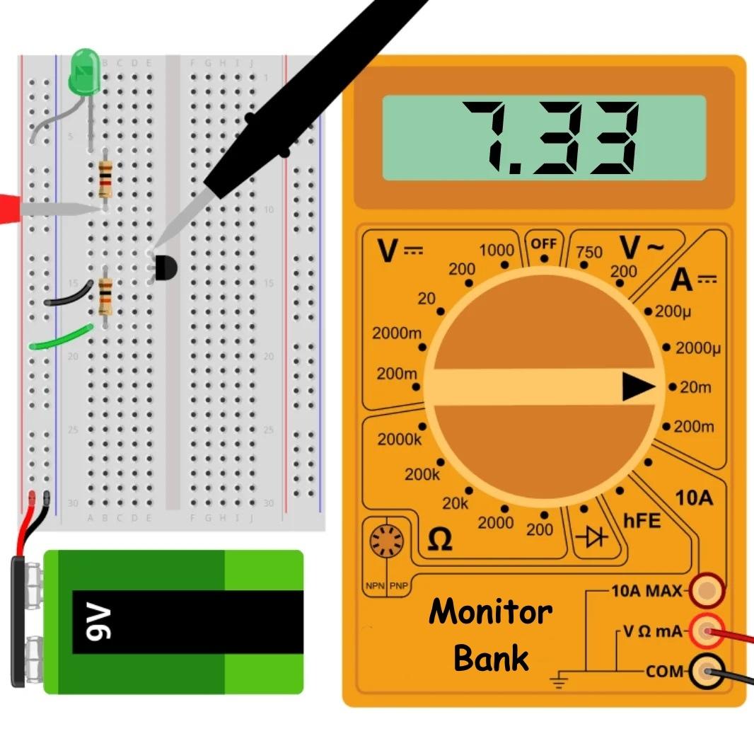 Измерение тока коллектора