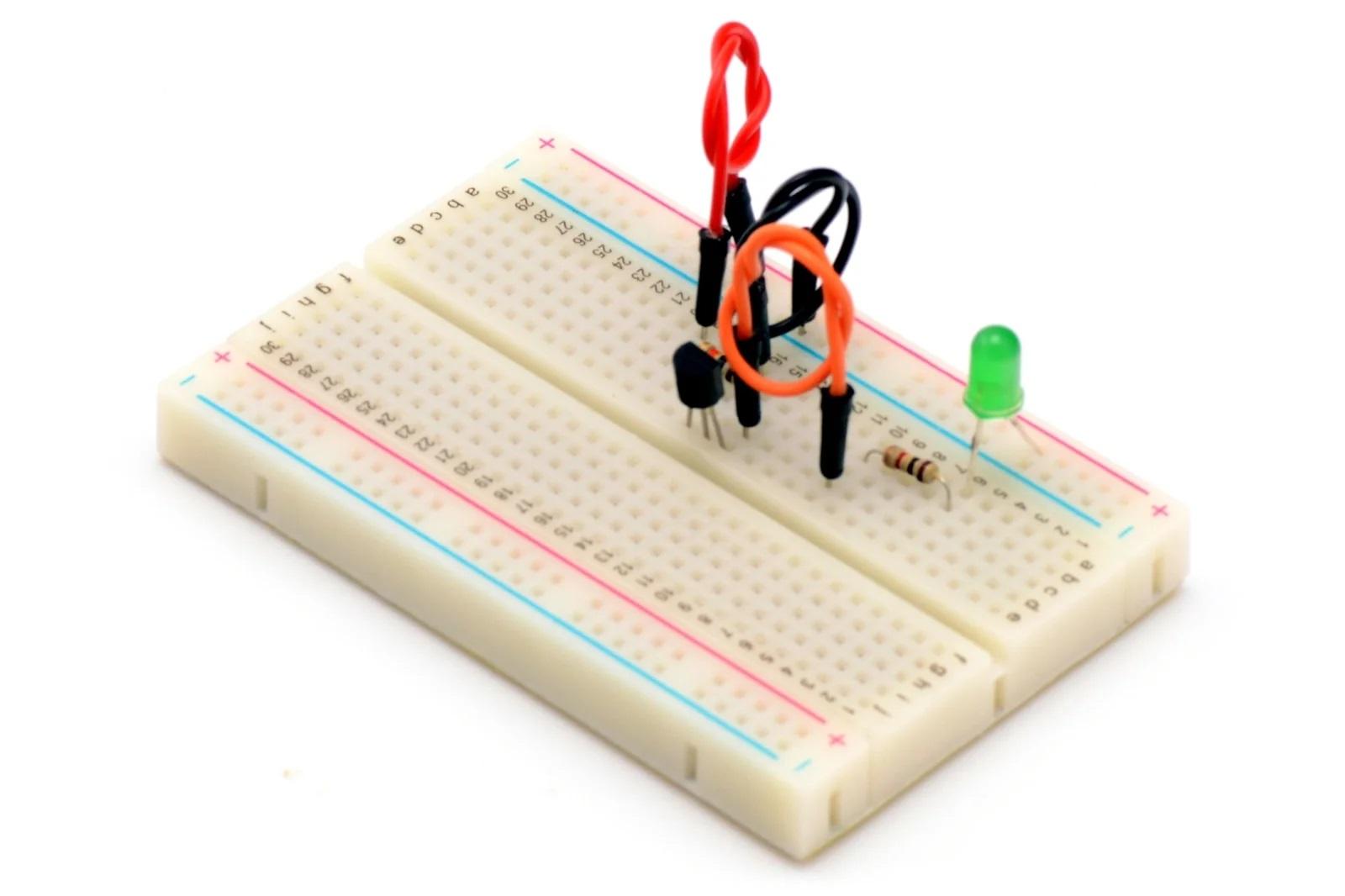 Подключение транзистора на практике