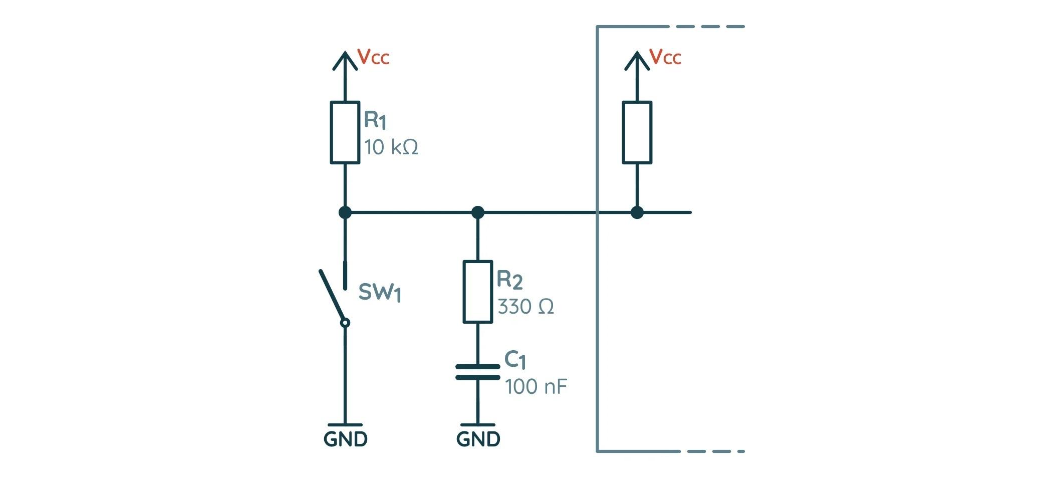 Пример RC-фильтра