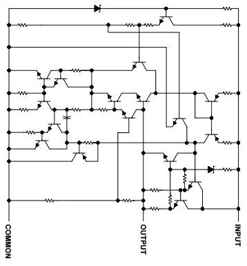 Схема стабилизатора 7805