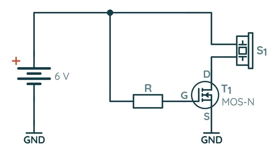 Использование полевого МОП-транзистора