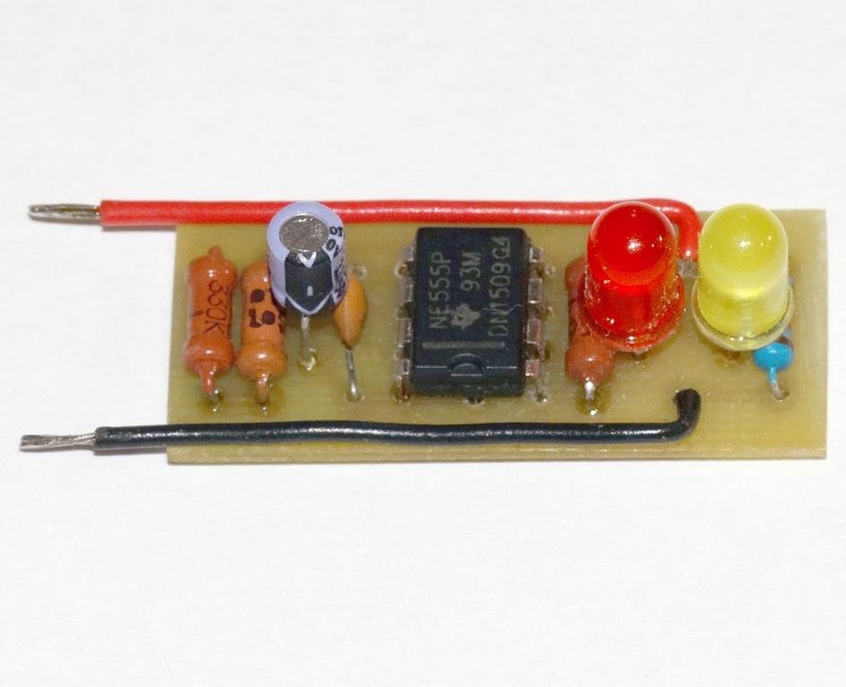 Популярная микросхема NE555