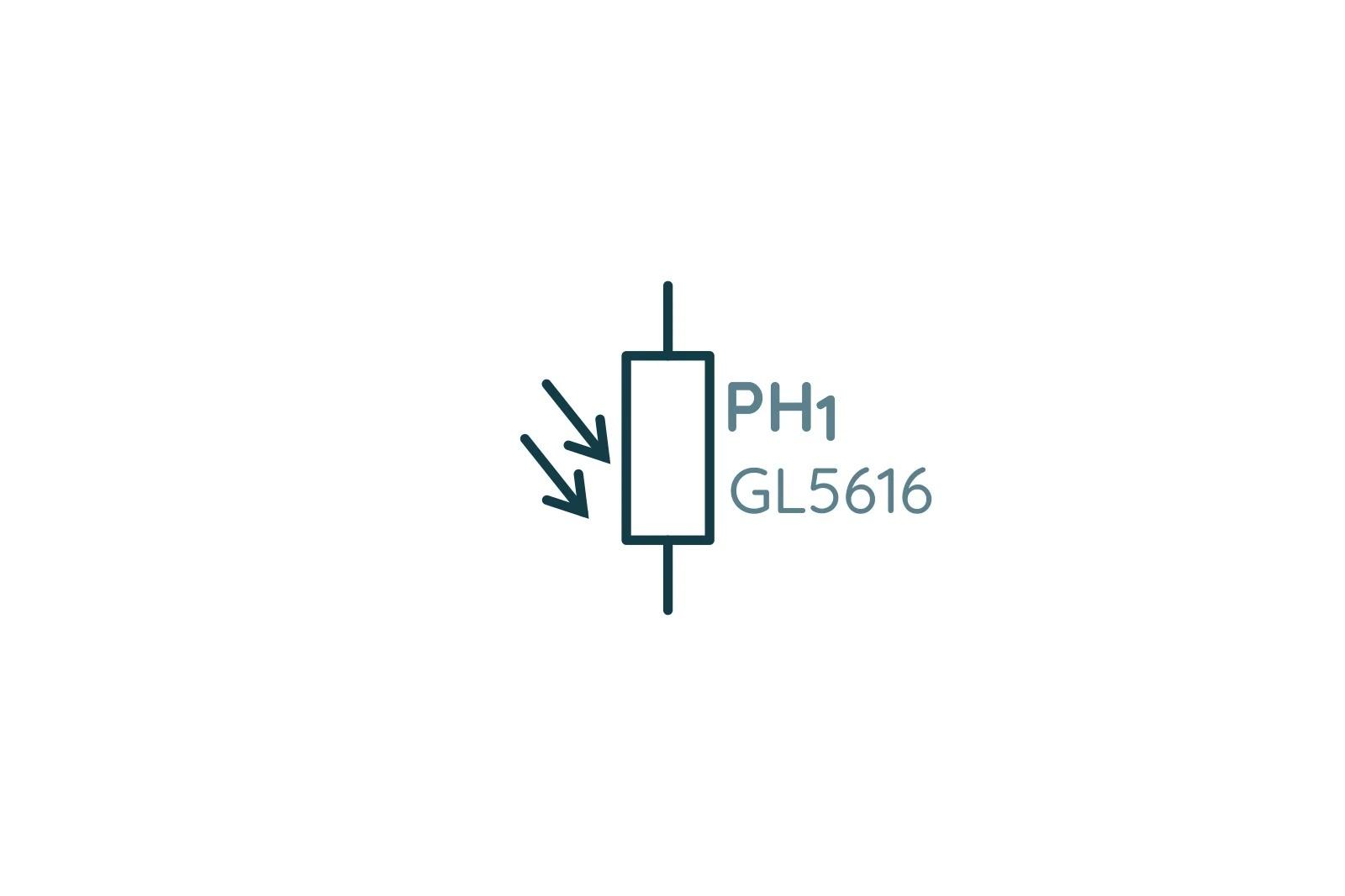 Обозначение фоторезистора