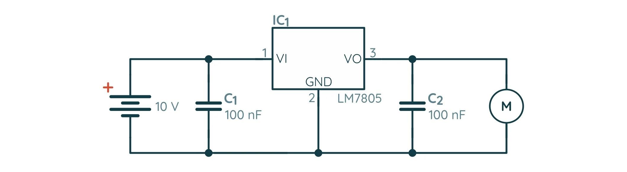 Связь двигателя со стабилизатором