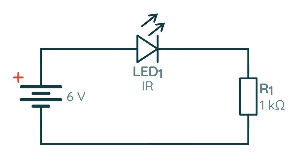 Схема тестера ИК-диодов