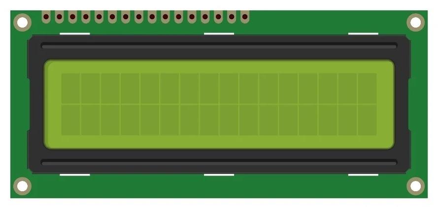Текстовый ЖК-дисплей 2x16 символов