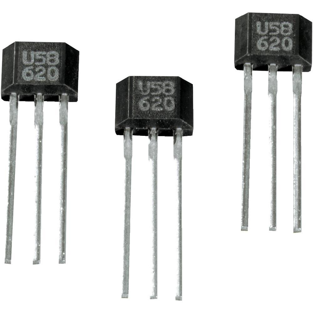 Униполярный транзистор внешний вид