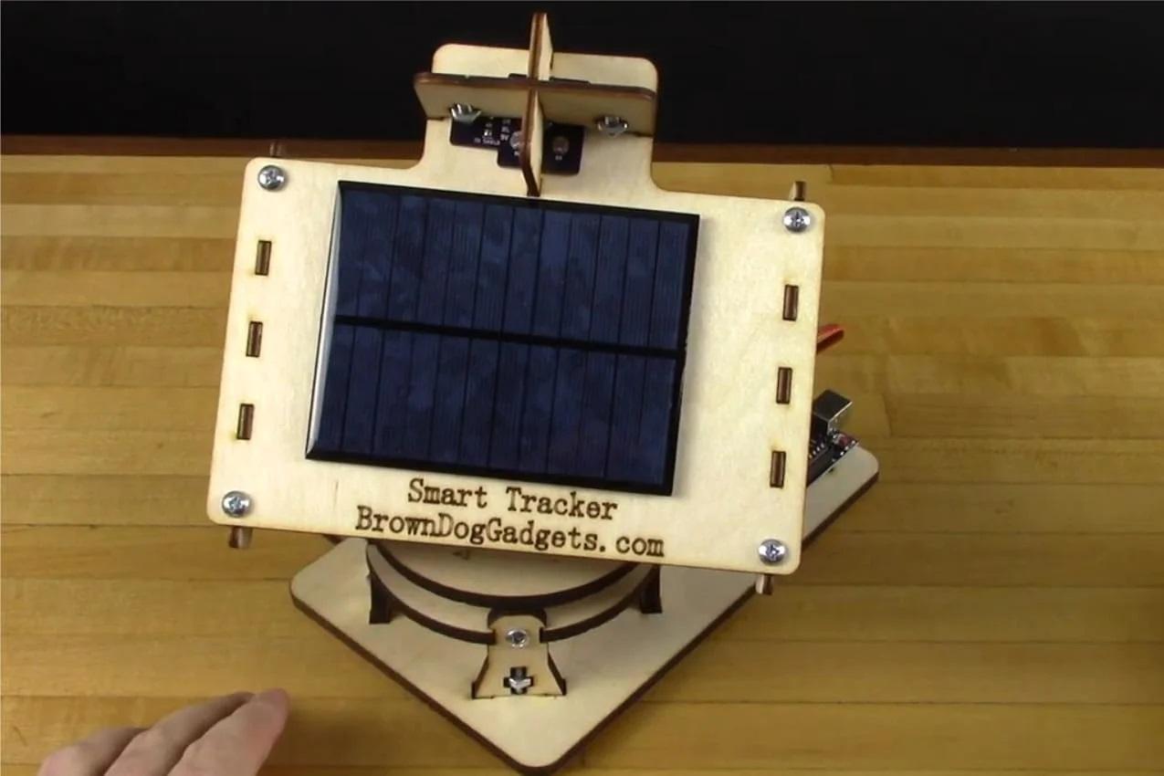Arduino для повышения эффективности солнечной батареи